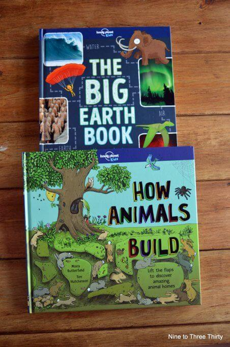 how animals build big earth book