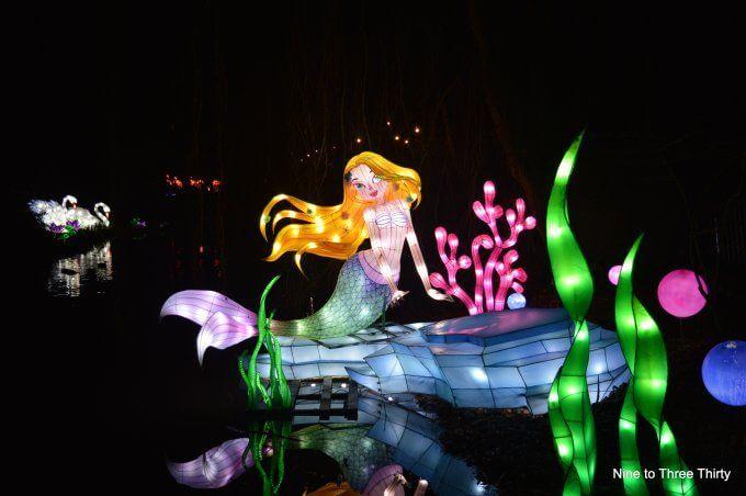 Magic Lantern Festival Kings Heath Park Birmingham