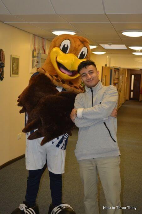 Baggie Bird and Karim Zeroual