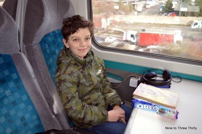 Oreos on the train