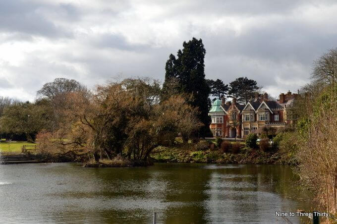 Bletchley Park and Lake