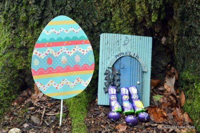 finding chocolate bunnies