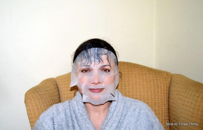 Wearing My Biocell Face Mask