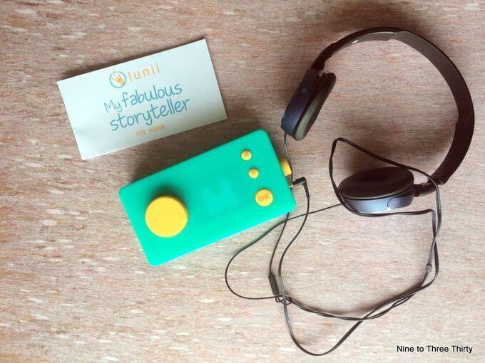 audio storyteller for children