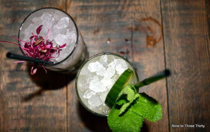 botantist cocktails