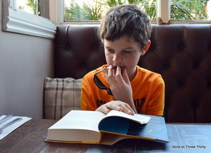 bookworm reading