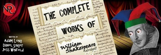 Complete works of shakespeare abridged