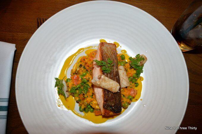 Roast Shetland Salmon