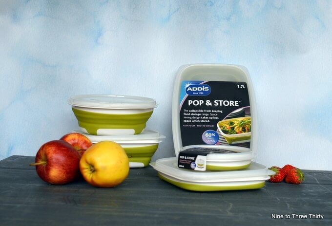 Addis Pop & Store food containers