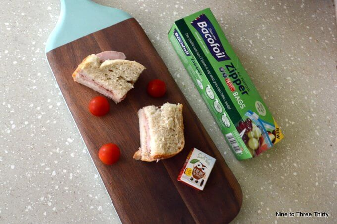 ham sandwiches for packed lunches