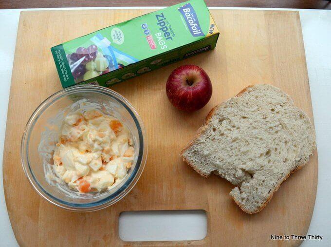 egg mayonnaise sandwich preparation