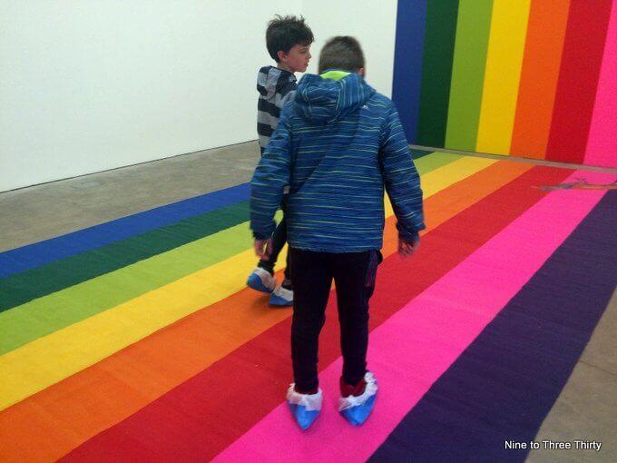 Polly Apfelbaum carpets
