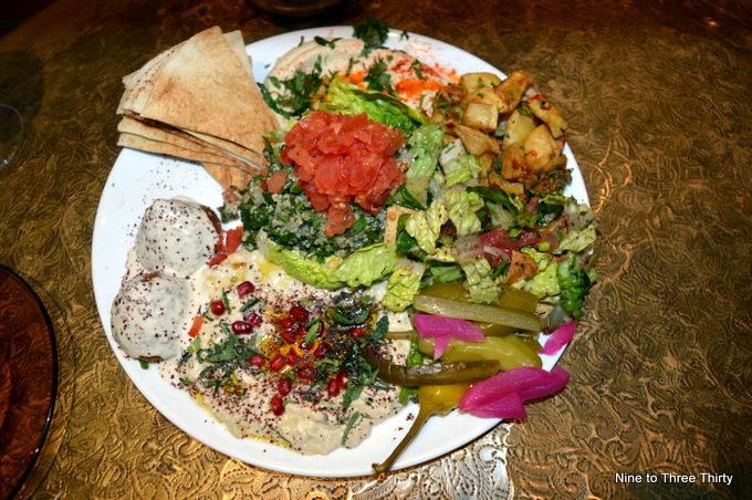 vegan feast comptoir libanais