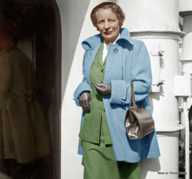 colourized picture