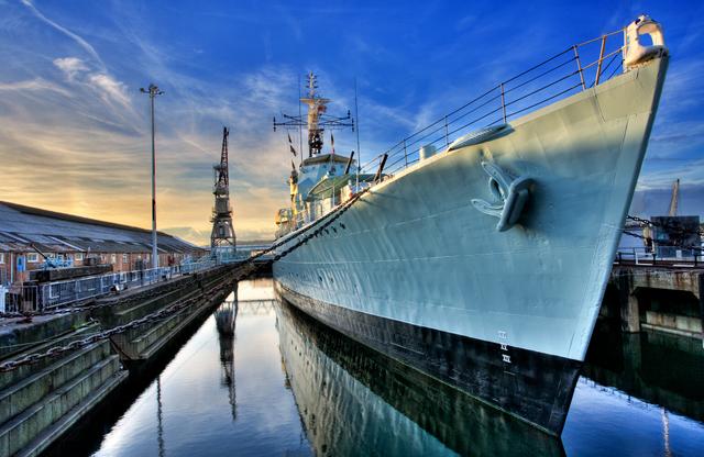 HMS Cavalier (1944) credit Robert Radford