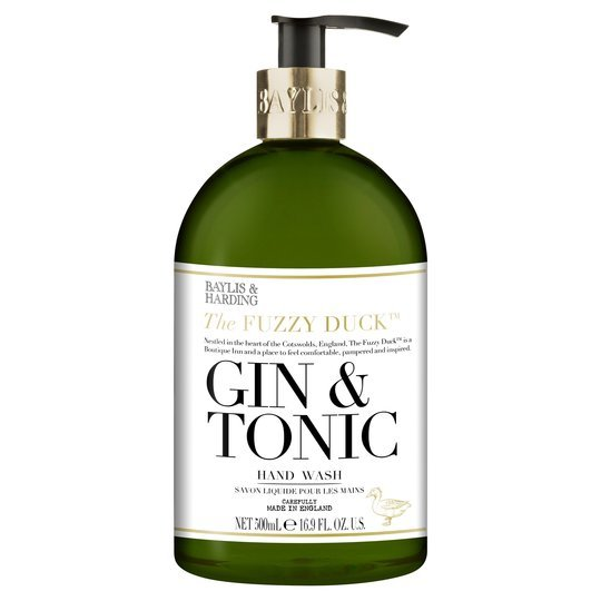 gin and tonic hand wash