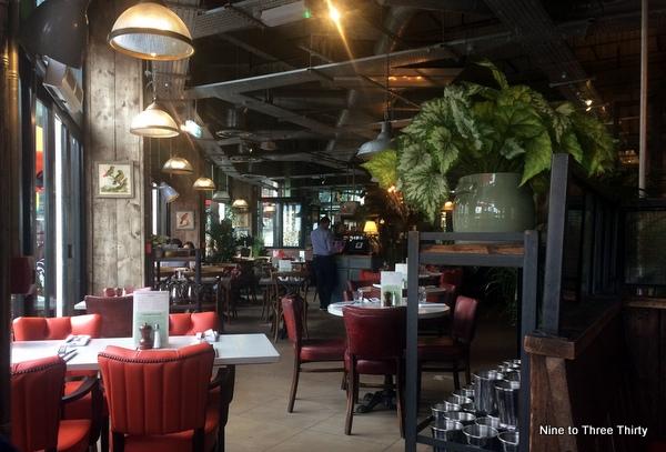 Bill's Bullring Birmingham interior