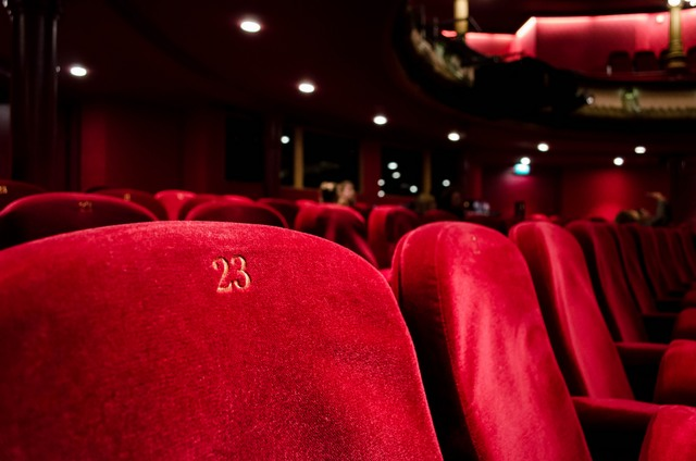 red cinema seat