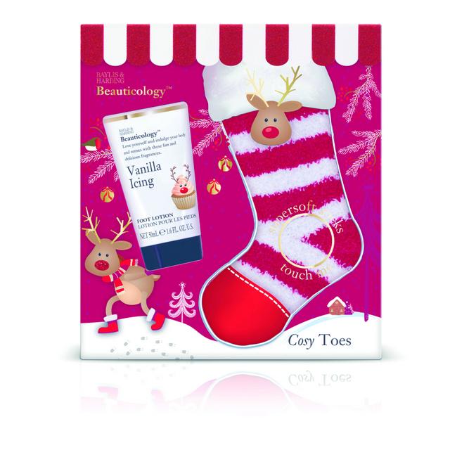 Beauticology Rudolph Festive Treats for Feet Set
