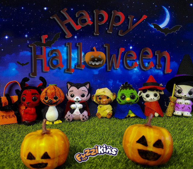 halloween fuzzikins