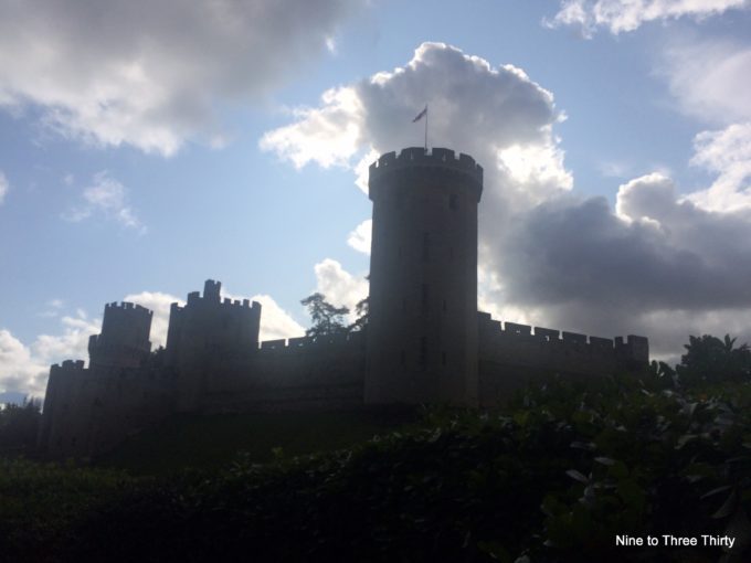 Haunted Castle Halloween event at Warwick Castle