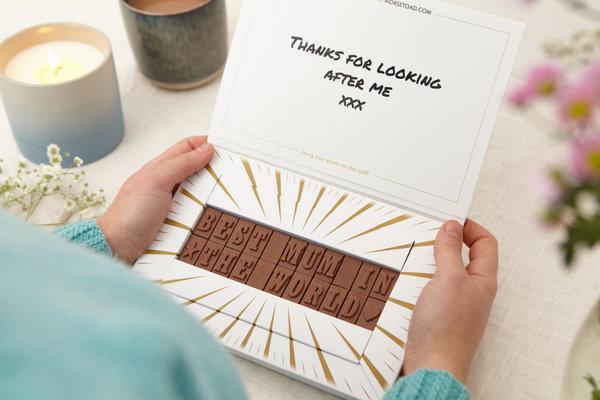 chocolate memory box
