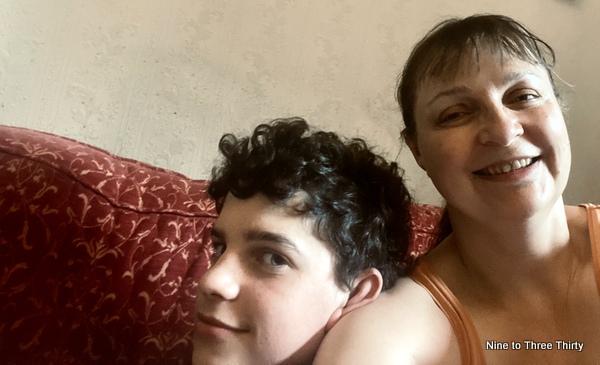 mum and teenager