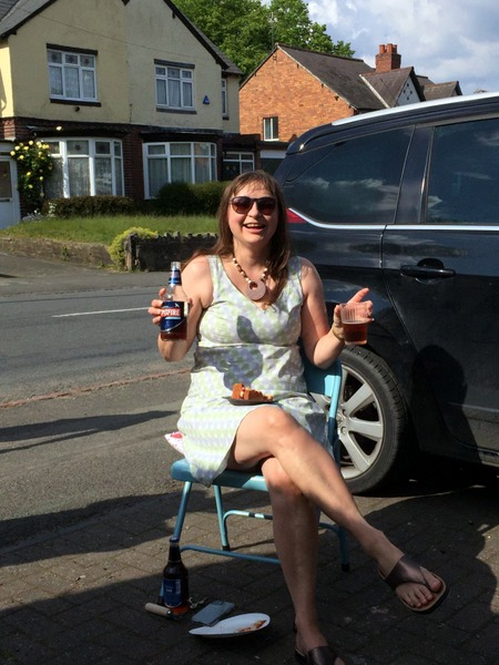 VE day street party