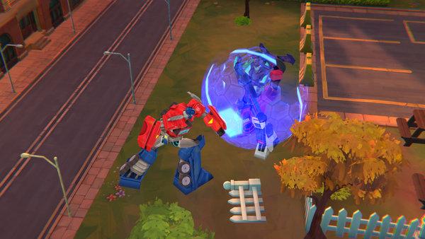 screen shot transformers: battlegrounds