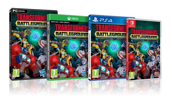 Transformers: Battlegrounds packshot