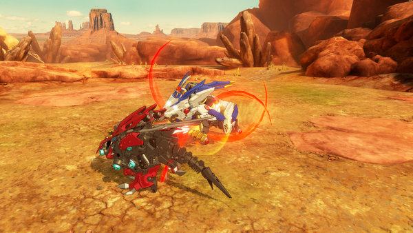 Zoids Wild Blast Unleashed - Screenshot