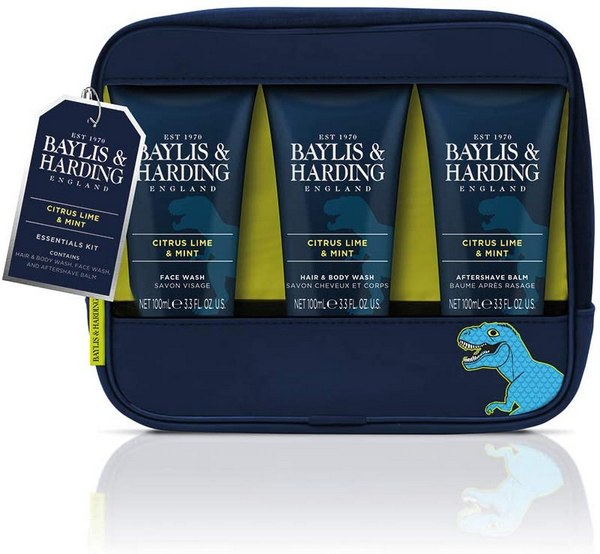 Baylis and Harding Men's Citrus Lime and Mint Wash Bag Giftset