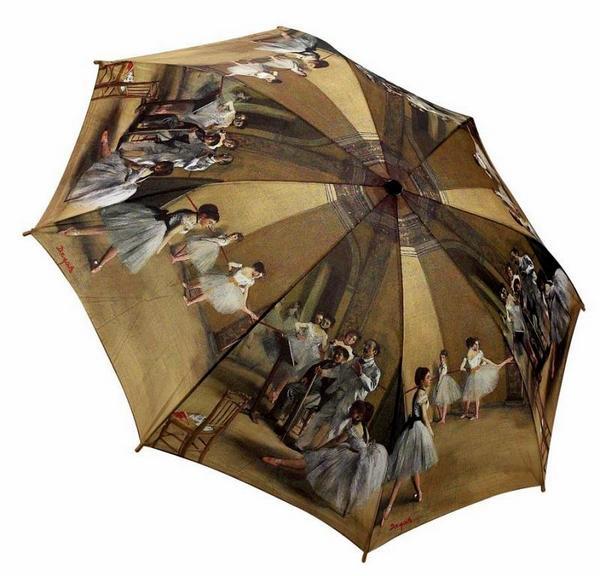 dega ballerinas umbrella