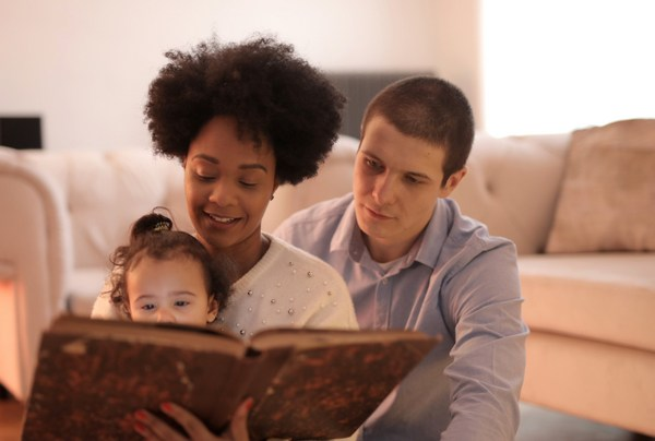 reading to small child