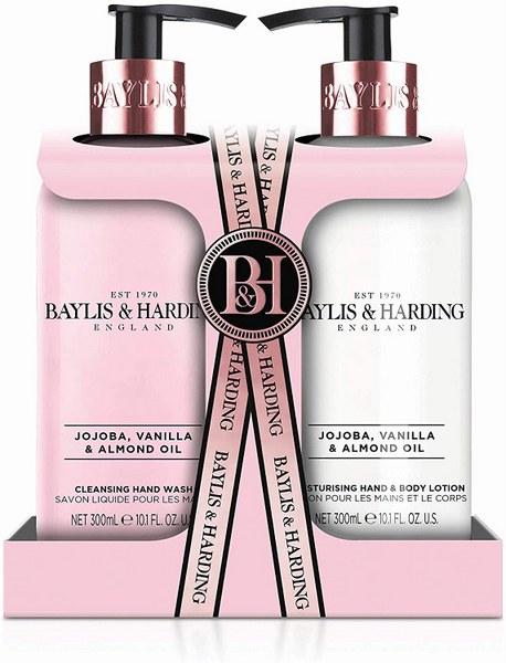 Baylis & Harding Jojoba, Vanilla & Almond Oil 2 Bottle Giftset
