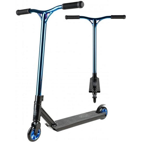 Blazer Pro Outrun FX Complete Stunt Scooter - Blue Chrome
