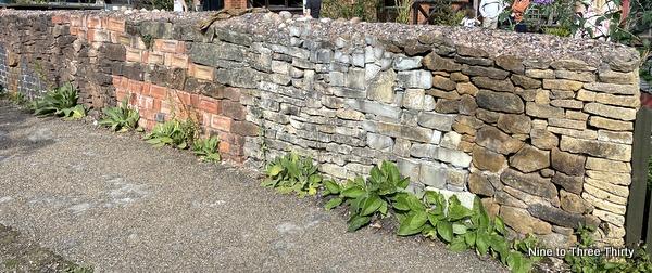 geological wall
